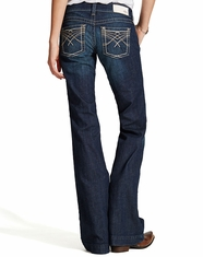 Ariat Women's Trouser Crossover Jeans - Spitfire
