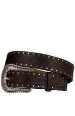 Ariat Women's Western Collection Embossed Belt - Brown