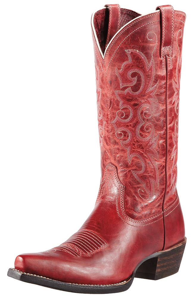 Ariat Womens Alabama Cowboy Boots - Redwood (Closeout)