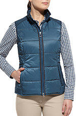Ariat Womens Ashley Vest - Blue (Closeout)