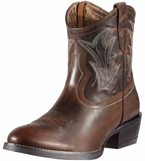Ariat Womens Billie Cowboy Boots - Sassy Brown