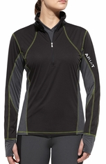 Ariat Womens Bryce Pullover - Black (Closeout)