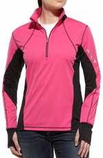 Ariat Womens Bryce Pullover - Cloudless Pink