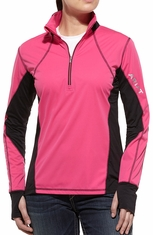 Ariat Womens Bryce Pullover - Cloudless Pink (Closeout)