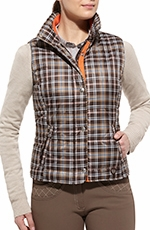 Ariat Womens Camden Vest - Brown
