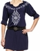 Ariat Womens Cassie Dress - Navy