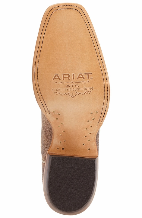"Ariat Womens Catalina 13"" Square Toe Cowboy Boots - Quicksand/Tarnished Copper"