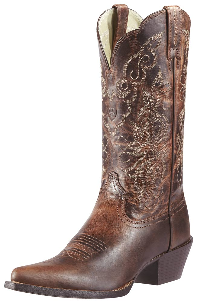 Ariat Womens Heritage J Toe Boots - Sassy Brown