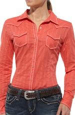 Ariat Womens Jenna Long Sleeve Western Shirt - Hot Corral