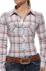 Ariat Womens Lindy Long Sleeve Western Shirt - Multi