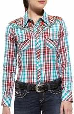 Ariat Womens Long Sleeve Maria Shirt - Multi (Closeout)