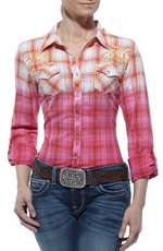 Ariat Womens Maxine Long Sleeve Western Shirt - Multi (Closeout)