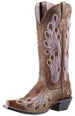 Ariat Womens Mirabelle Cowboy Boots - Tumbled Tawny (Closeout)
