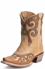 Ariat Womens Rio Cowboy Boots - Oak Barrel (Closeout)