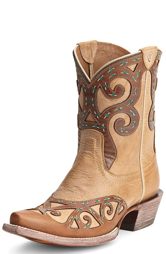 Ariat Womens Rio Cowboy Boots - Oak Barrel