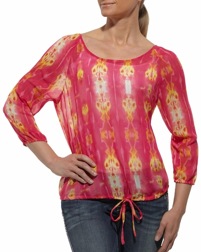 Ariat Womens Luma Top - Multi (Closeout)