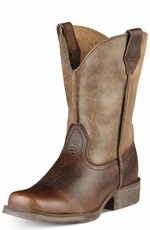 Ariat Youth Rambler Boots - Earth/Brown Bomber
