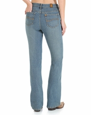 Aura Wrangler Women's Instantly Slimming Jean - Tinted Mid-Stone