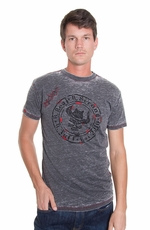 B Tuff Men's Logo Shirt - Grey