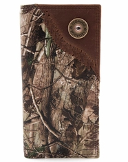 Badger Shotgun Shell Camo Rodeo Wallet - Brown