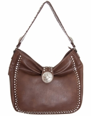 Blazin' Roxx Women's Conceal Carry Bag - Brown