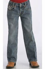 Cinch Boy's White Label Jeans (Sizes 1T-4T) - Light Stonewash