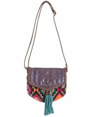 Catchfly Women's Bambi Crossbody Bag - Aztec