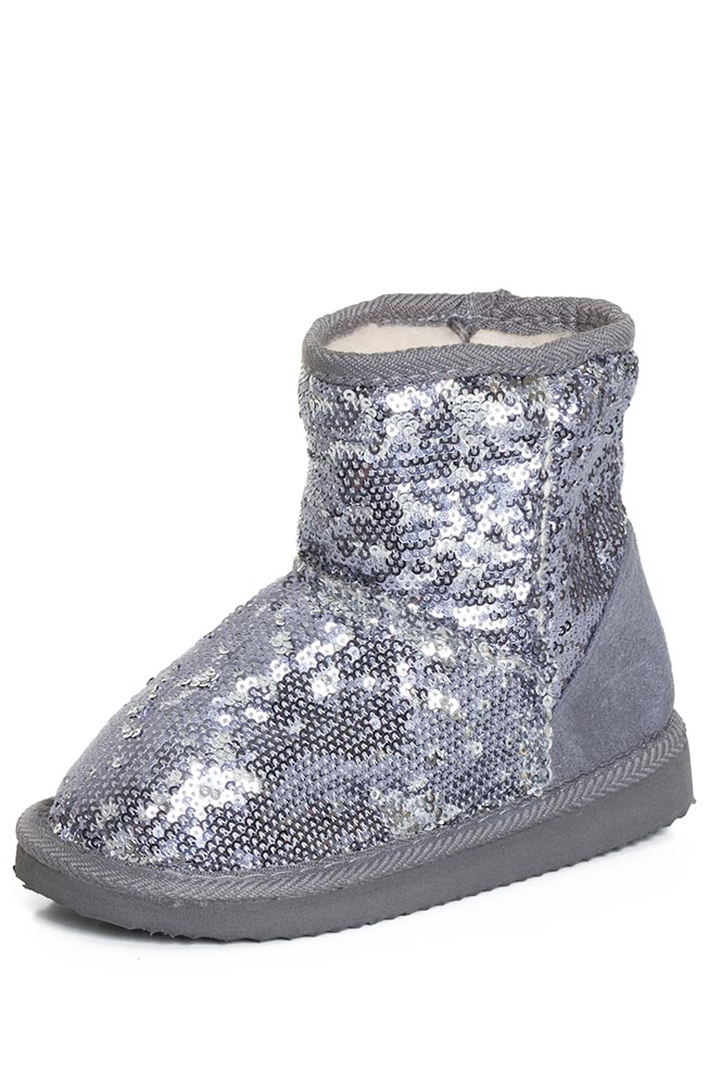 Gold Sequin Toddler Boots Sequin-boots-silver-gold