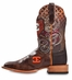 "Cinch Edge Mens ""Aldrich"" Cowboy Boots - Brown (Closeout)"