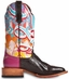 "Cinch Edge Womens ""Star Punch"" Square Toe  Cowboy Boots (Closeout)"