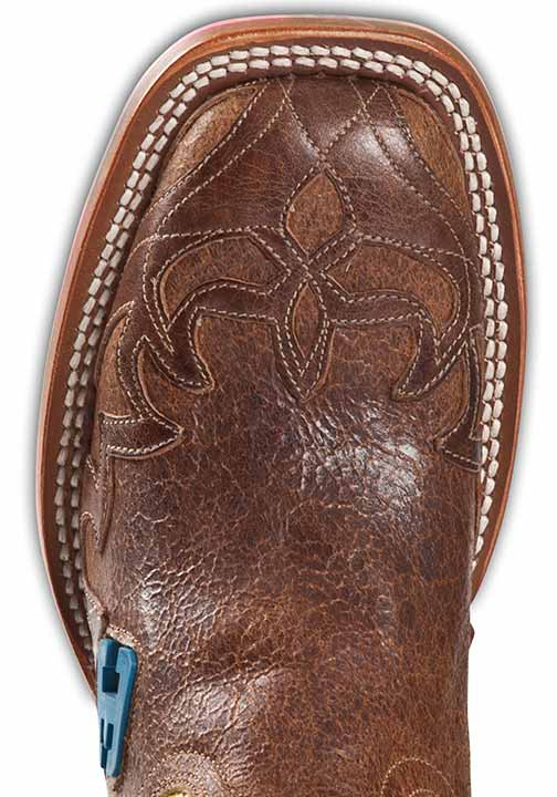 "Cinch Edge Womens ""Wave"" Square Toe Cowboy Boots"