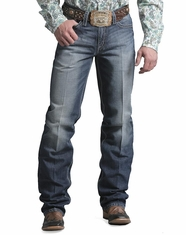 Cinch Men's Grant Relaxed Boot Leg Jeans - Dark Stone