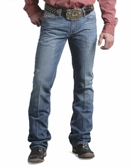 Cinch Men's Ian Slim Boot Leg Jeans - Stone