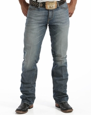 Cinch Men's Ian Slim Boot Cut Jeans - Stone (Closeout)