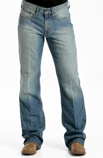 Cinch Mens Britt Jeans - Medium Stonewash (Closeout)