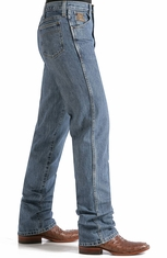 Cinch Mens Bronze Label Slim Fit Jean - Medium Stonewash or Dark Stonewash
