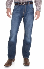 Cinch Mens Carter 2.0 Relaxed Boot Leg Jeans: Dark Stone (Closeout)