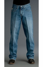 Cinch Mens Fastback Relaxed Fit Jean (Medium Stonewash)