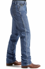 Cinch Mens Green Label Original Fit Jeans (Dark Stonewash)