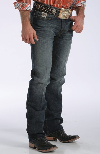 Cinch Mens White Label® Jeans - Dark Stonewash