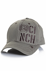 Cinch Mens Flex Fit Cap - Olive Green