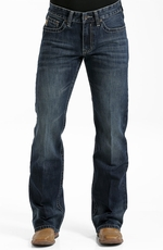 Cinch Mens Reed Jeans - Dark Stonewash
