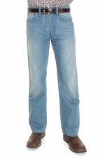 Cinch Mens Silas Jeans - Light Stonewash