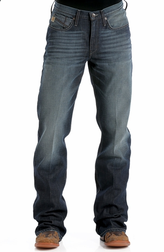 Cinch Mens Special Edition Boot Cut Luke ll Jeans - Dark Stonewash (Closeout)