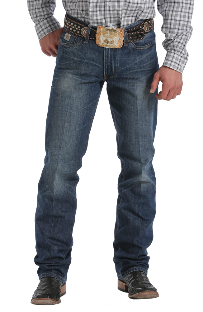 Cinch Mens Trenton Jeans - Dark Stonewash (Closeout)
