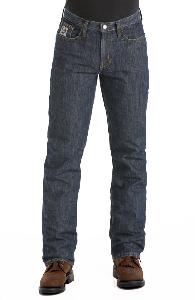 Cinch Mens Wrx Fr White Label Relaxed Fit Jeans Indigo Rinse