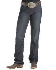 Cinch Women's Jenna Slim Fit Boot Cut Jeans - Rinse