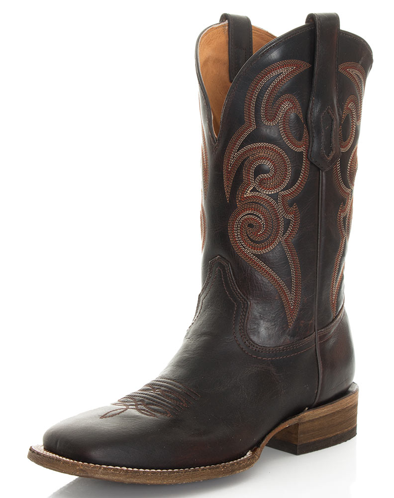 corral s 13 quot square toe boots brown