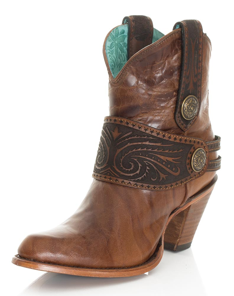 Beautiful Allens Boots Womenu0026#39;s Corral Boots Brown Lizard Inlay Embroidery #A3328