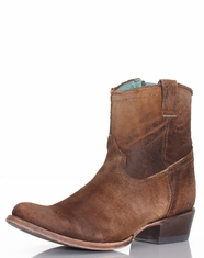 Corral Women's Abstract Shorty Boots - Tan